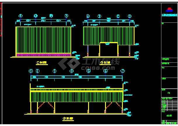 伟明工贸有限公司结构CAD方案设计图纸-图2