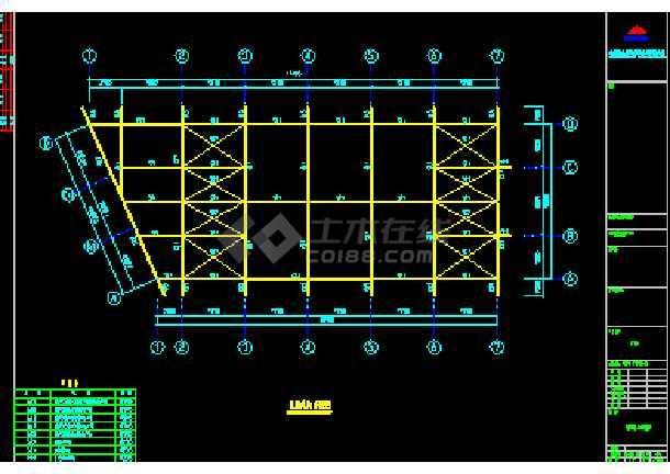 伟明工贸有限公司结构CAD方案设计图纸-图3