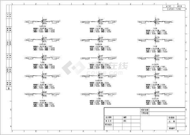 天湖南路综合改造提升工程道路设计图纸-图1