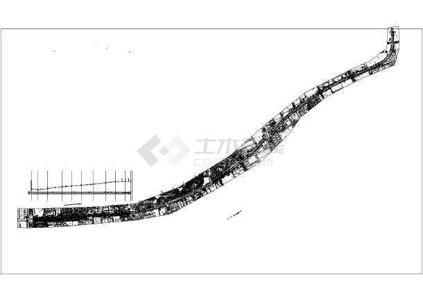 天湖南路综合改造提升工程道路设计图纸-图2