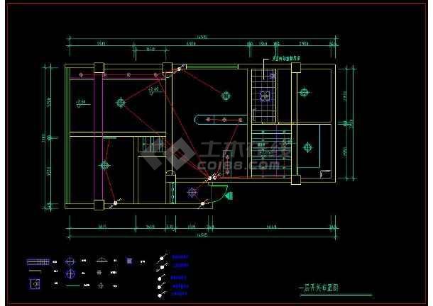 整套图纸楼CADv图纸装修施工复式图纸帽墩图片