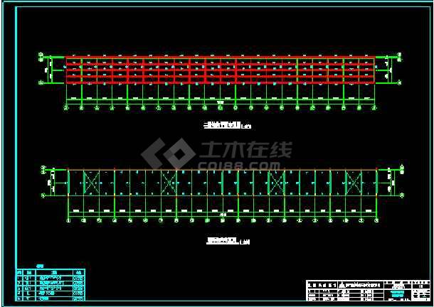 四川成都某工程建筑CAD平面设计图-图2