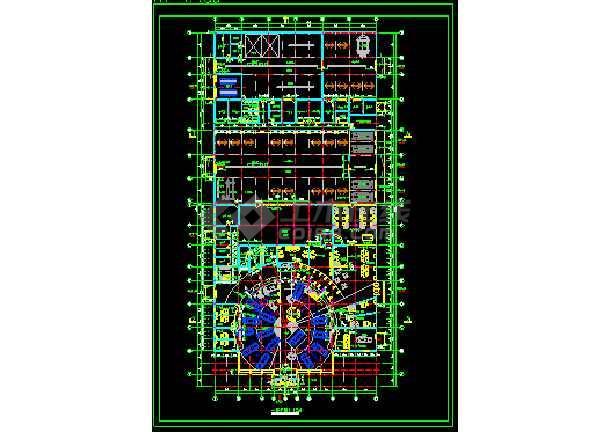 汽车展厅装饰cad设计施工方案图-图2