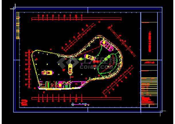 上海国际汽车博览馆cad设计方案-图2
