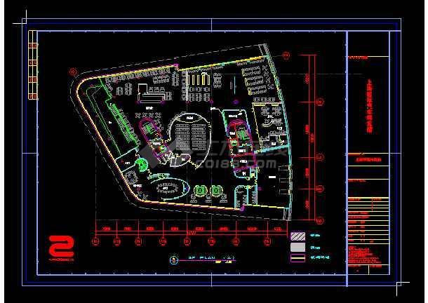 上海国际汽车博览馆cad设计方案-图3