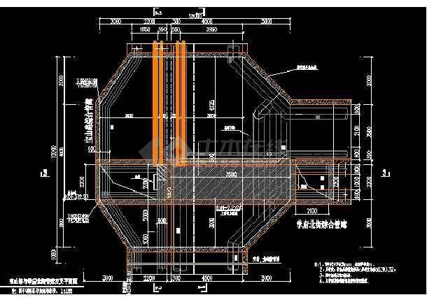 某大型综合甲级市政院综合管廊设计图(通风部分)-图1