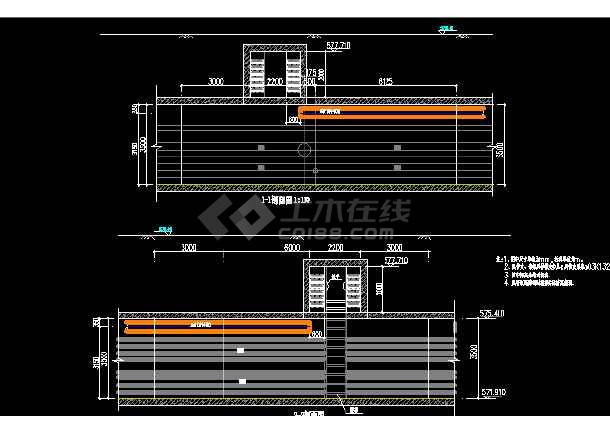 某大型综合甲级市政院综合管廊设计图(通风部分)-图2