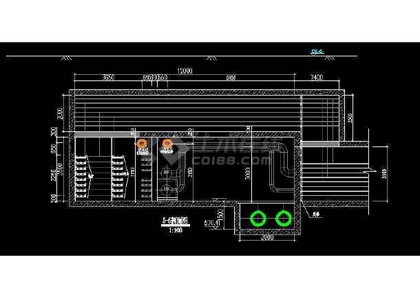 某大型综合甲级市政院综合管廊设计图(通风部分)-图3