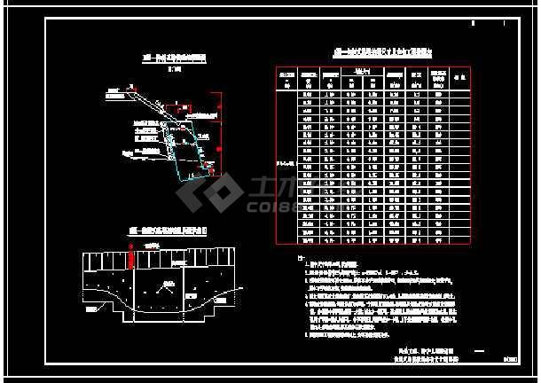 标准图集-悬臂式、重力式、衡重式挡土墙图-图2