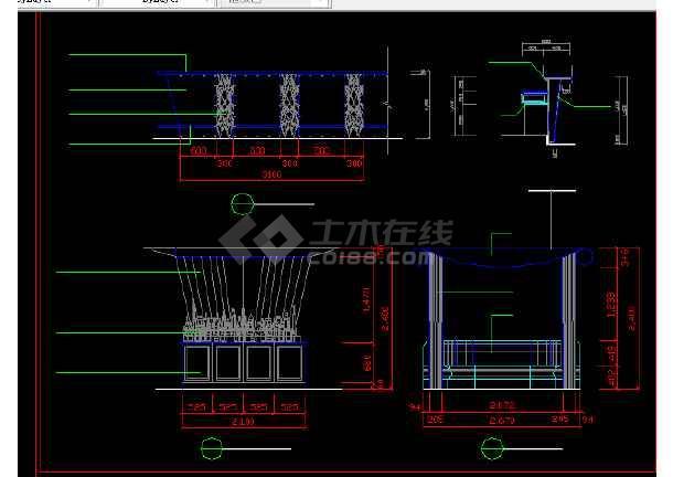 酒店办公楼建施方案设计全套CAD图纸-图1