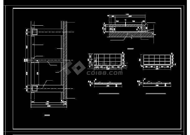 单桥洞石拱桥修复工程cad设计施工大样图-图3