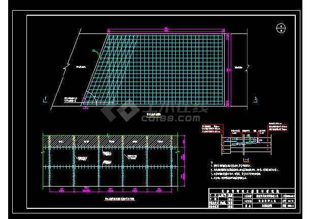 城市道路建设多种路面cad结构设计施工大样图-图1