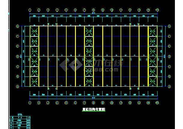 南安某工程方案结构CAD设计施工图纸-图3