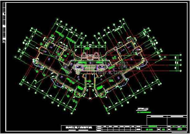 上海高层住宅楼中央空调系统施工图-图1