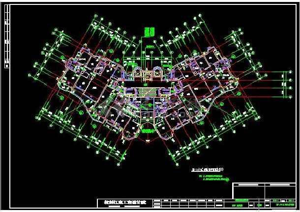 上海高层住宅楼中央空调系统施工图-图2