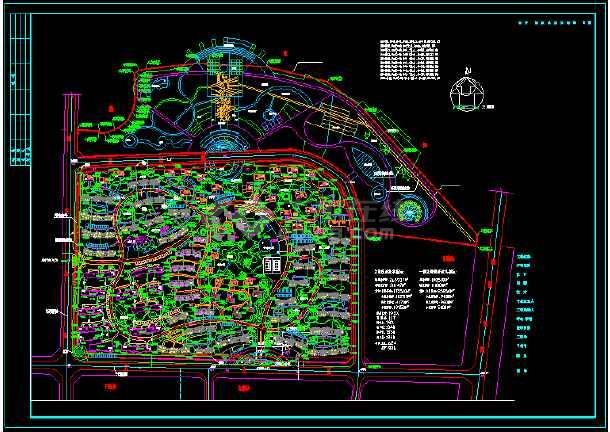 康庭嘉苑规划设计方案图-图1