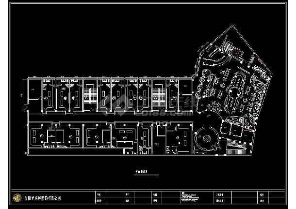 音乐酒吧ktv精装修室内设计cad施工图纸图片