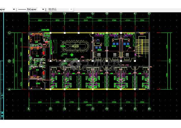 大型综合楼电气设计方案全套CAD图纸-图1