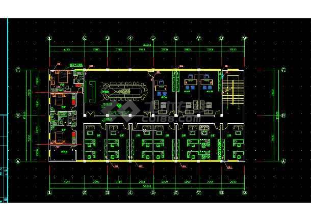 大型综合楼电气设计方案全套CAD图纸-图2