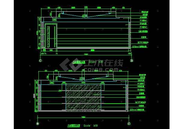 大型综合楼电气设计方案全套CAD图纸-图3