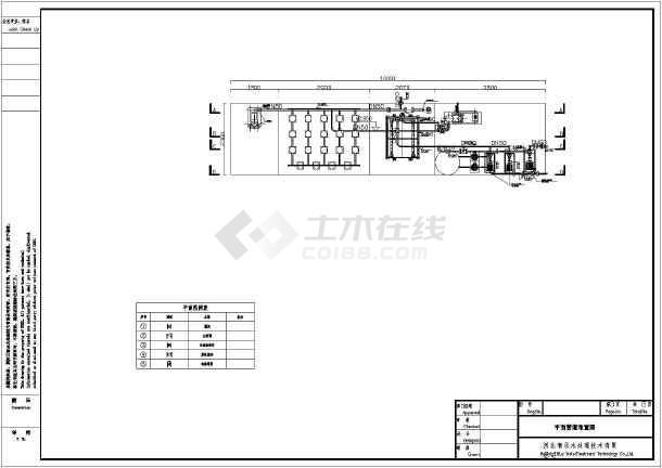AO一体化设备100t/d加工图-图1