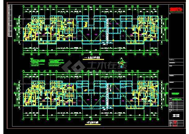 宁德某小区住宅楼结构施工图-图2