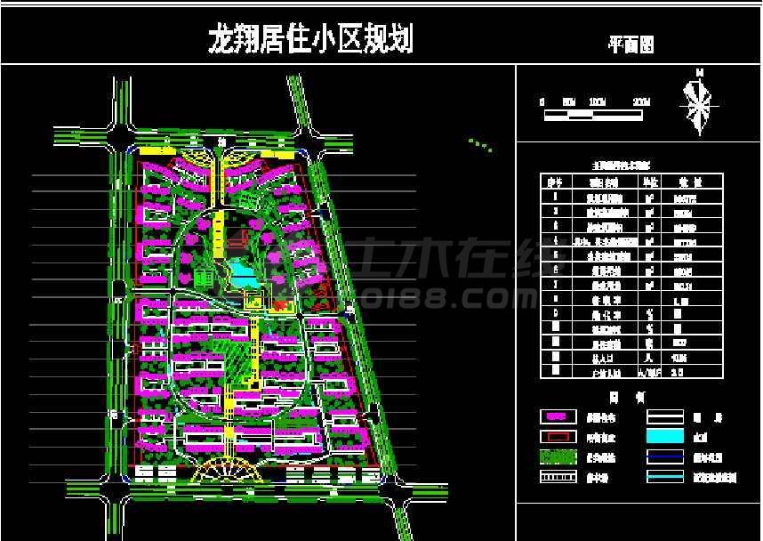50多套居住小区规划图纸cad(最新整合)-图2