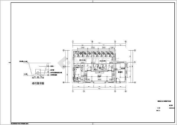 梅堰南卫生间给排水设计(含设计说明)-图2