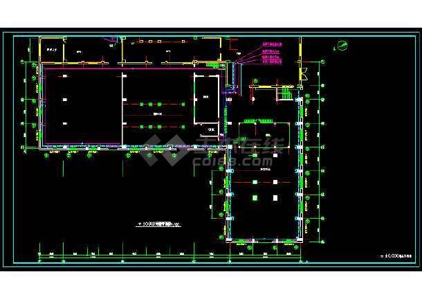 某电站高压蒸汽采暖施工图-图1
