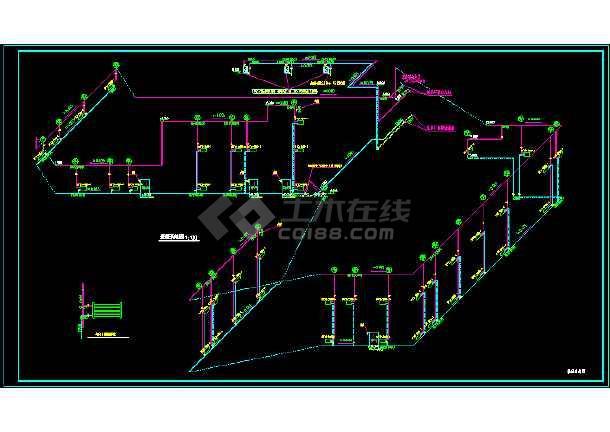 某电站高压蒸汽采暖施工图-图2