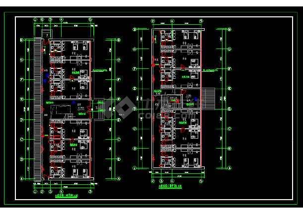 标准间全套建筑施工设计CAD大样图-图1