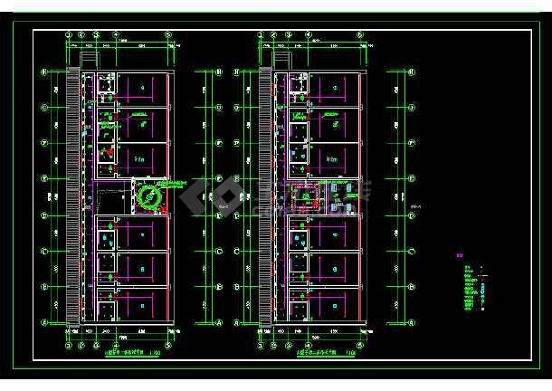 标准间全套建筑施工设计CAD大样图-图2