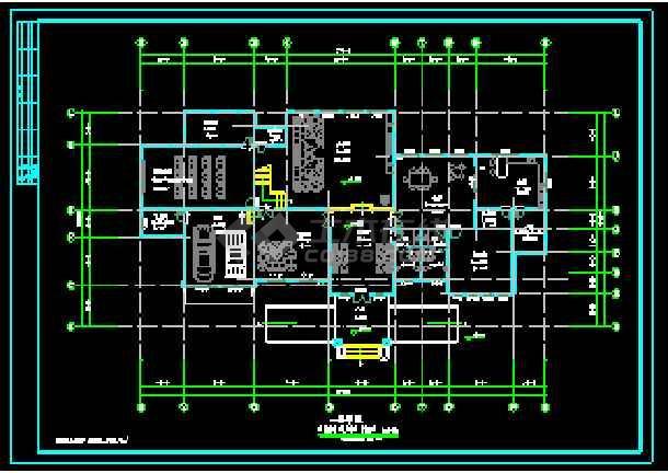 某地两层独立别墅CAD建筑方案设计-图1
