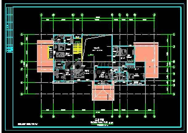 某地两层独立别墅CAD建筑方案设计-图2