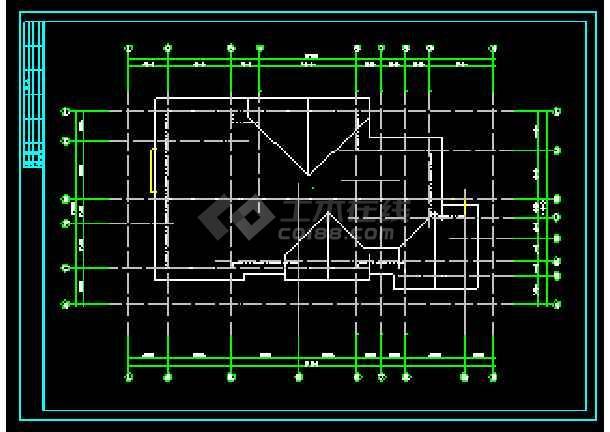 某地两层独立别墅CAD建筑方案设计-图3
