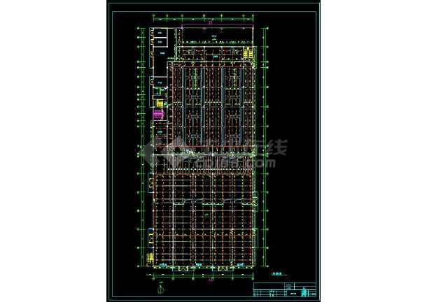 某地工业厂房给排水和消防cad设计全套图(含设计说明)-图2