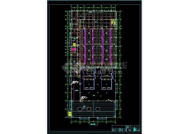 某地工业厂房给排水和消防cad设计全套图(含设计说明)-图3
