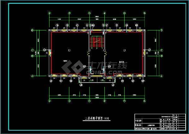 仪器仪表有限公司自动化室地热和散热器采暖图纸-图3