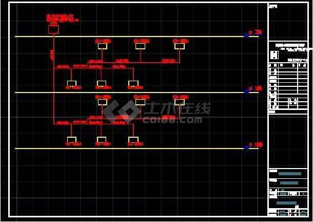 杭州某中学二层教学楼空调设计施工图-图2