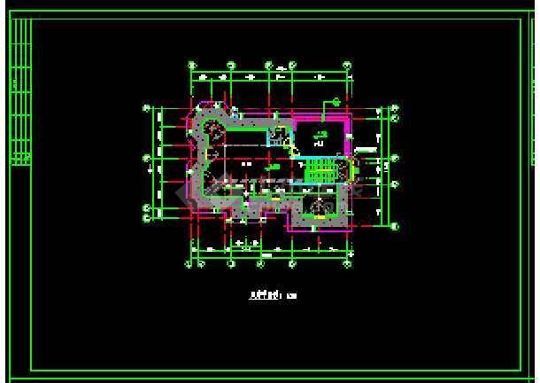 某地多层现代风格经典别墅建筑设计CAD图-图1