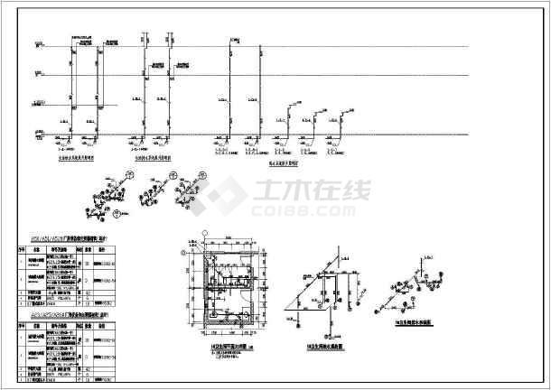 某地大型工业建筑工程给排水设计(含设计说明)-图2