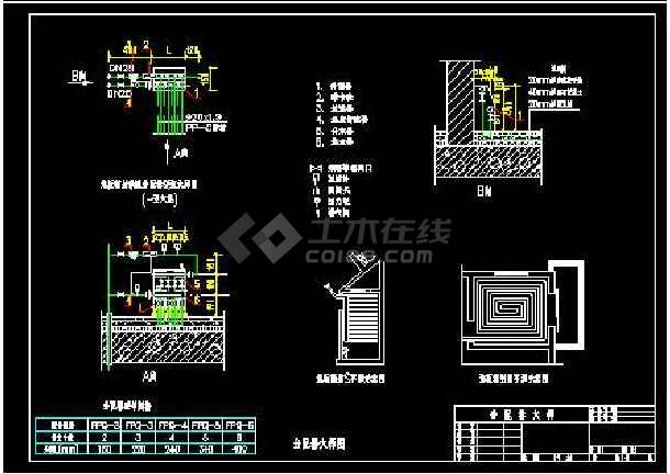供热分户计量通用标准设计施工CAD图-图1