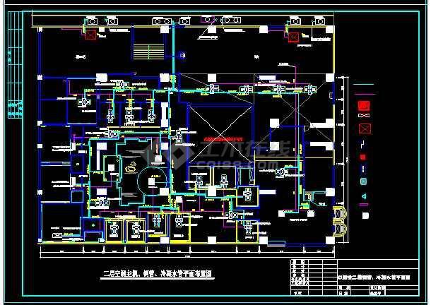 西安某粤菜酒楼VRV空调系统设计图纸-图2