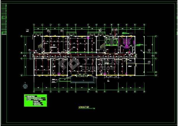 某地人民医院给排水cad设计全套图-图1
