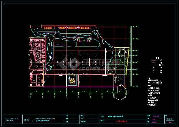 某地精典中式家装cad给排水施工图-图2