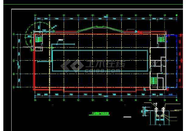 银泰服饰城建筑结构设计方案全套CAD详图-图1