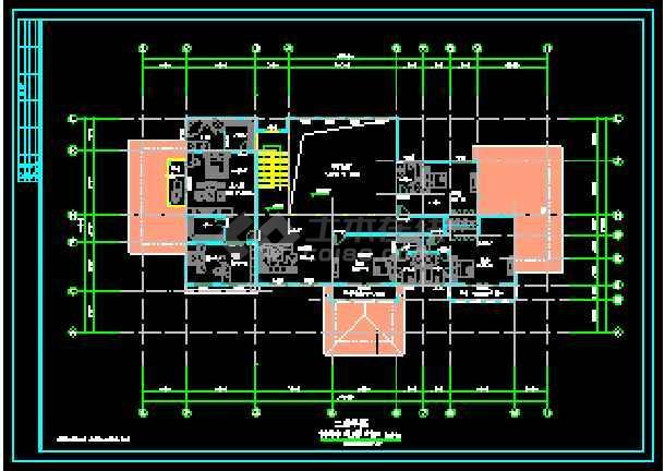 某两层独立别墅CAD建筑方案设计图-图2