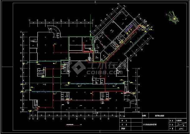 带地下室宾馆给排水全套cad设计图-图2