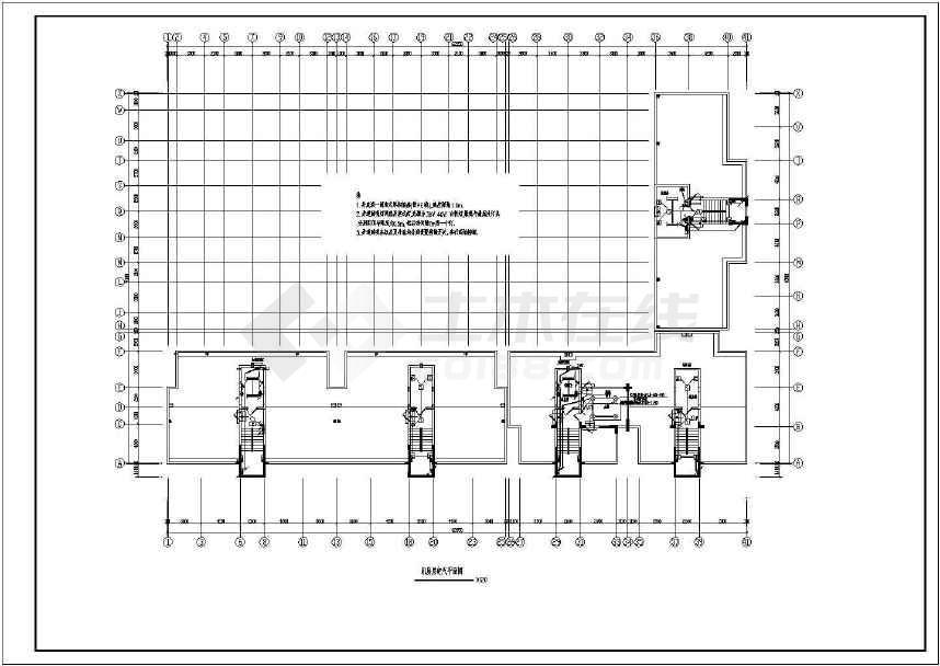 某详细的小高层住宅完整电气施工图-图1