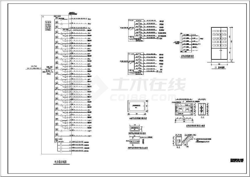 某详细的小高层住宅完整电气施工图-图2
